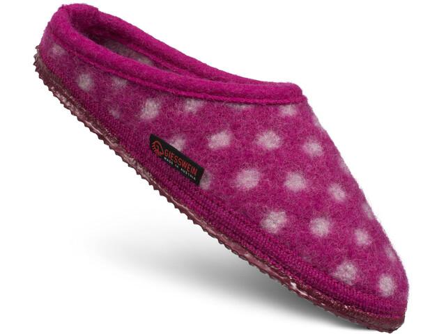 Giesswein Neuenstein Zapatillas de Casa Mujer, rosa/blanco